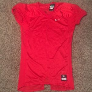 NEW  Nike Red Football Practice Jersey  SIZE XL